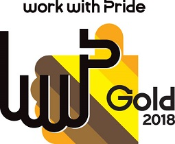 Work With Pride Gold 2018