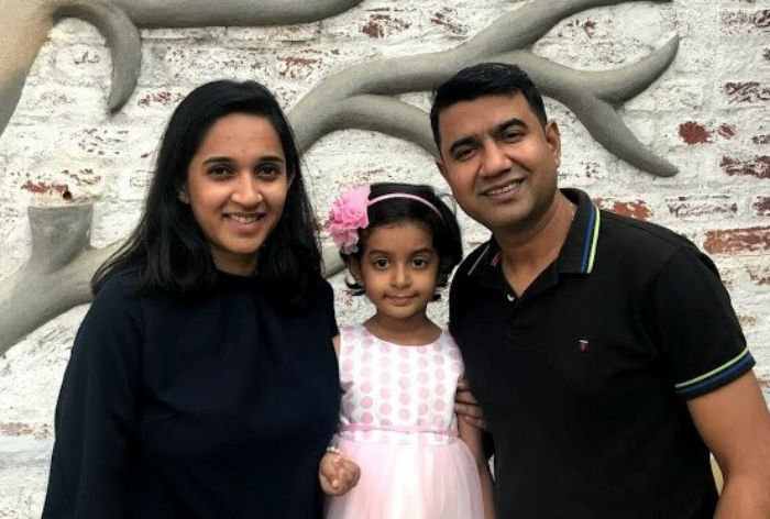 Ramya and her family