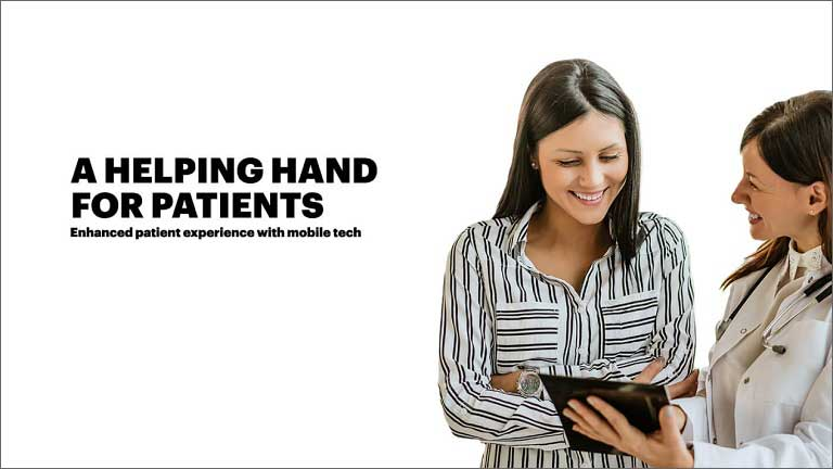 Enhancing the patient experience with mobile technology