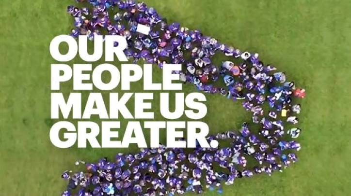 People make us greater