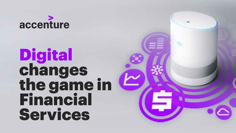 Digital changes the game in financial services
