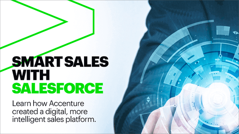 Intelligent sales with Salesforce