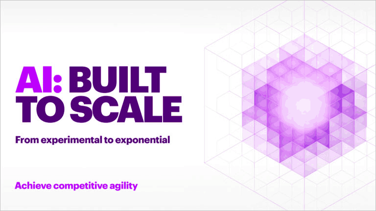AI: Built to scale