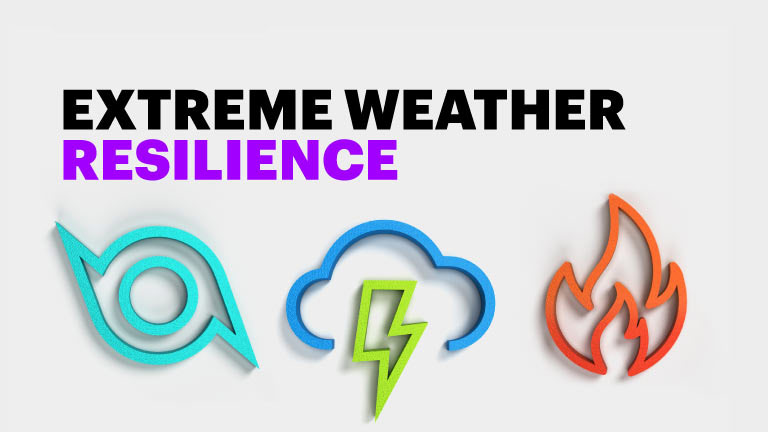 Creating an extreme weather resilience strategy