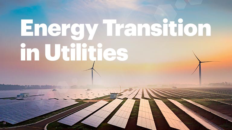 Energy transition in utilities