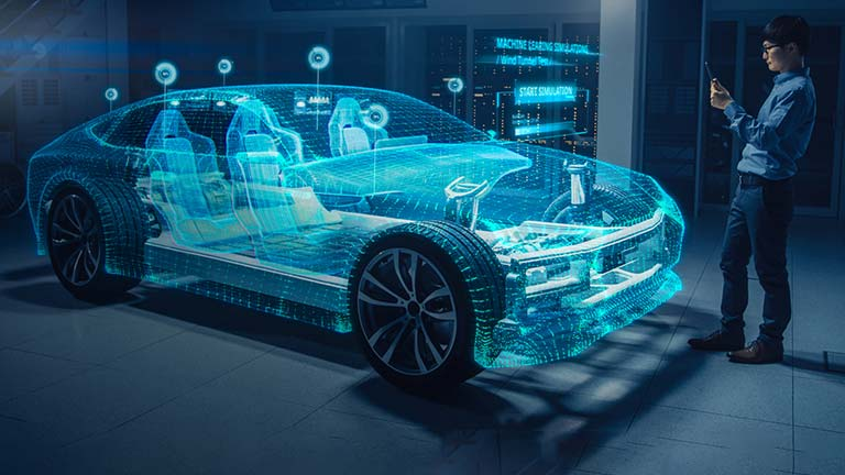 New models to win the in-vehicle technology race