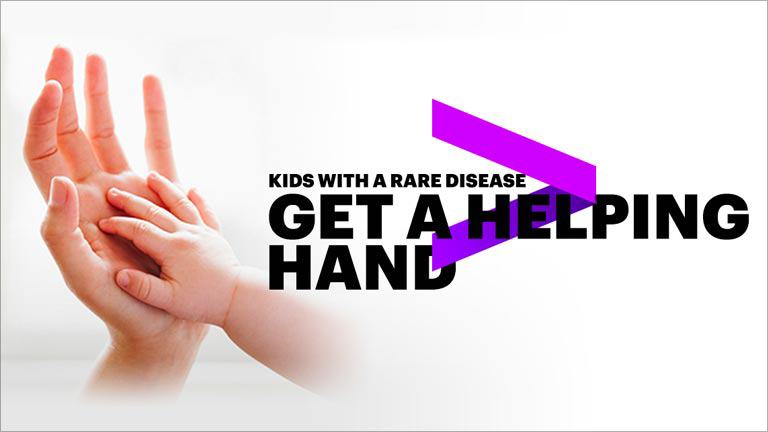 Kids with rare disease get a helping hand