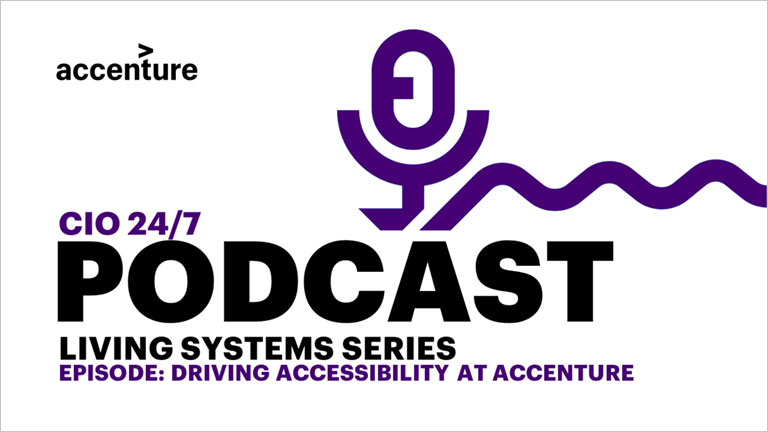Technology: Driving accessibility at Accenture