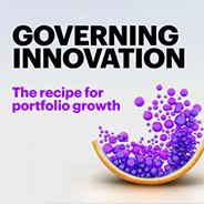 Governing Innovation: The recipe for porfolio growth