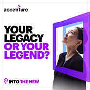 Accenture Your legacy or your legend? Into the New