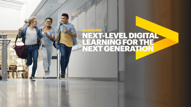 Samsung next-level digital learning for the next generation
