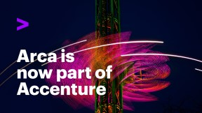 Arca is now part of Accenture