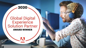 2020 Global Digital Experience Solution Partner Award Winner