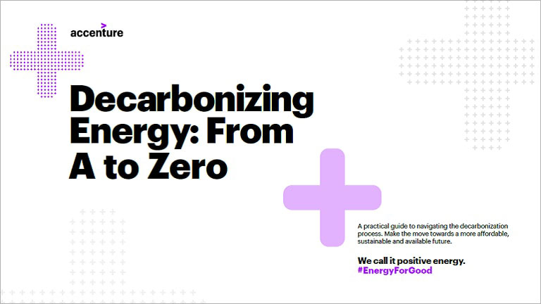 Decarbonizing Energy: From A to Zero