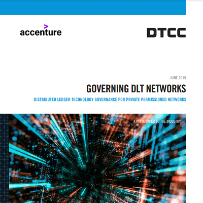 Governing DLT networks: Distributed ledger technology governance for private permissioned networks