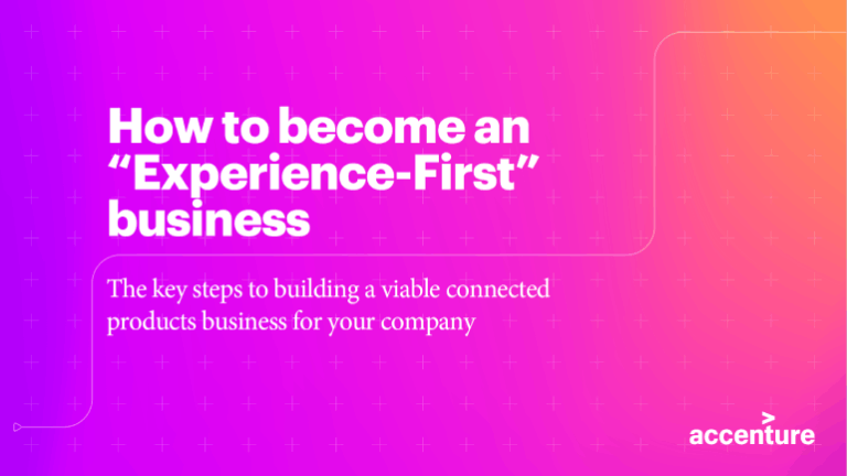 "How to become an ""Experience-First"" business"