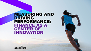 Measuring and driving performance: Finance as a center of innovation