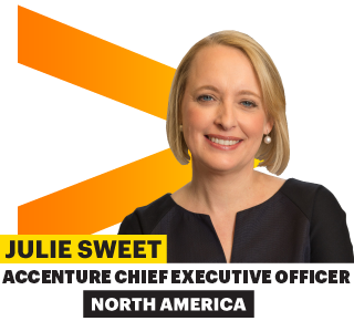 Julie Sweet, Accenture Chief Executive Officer – North America