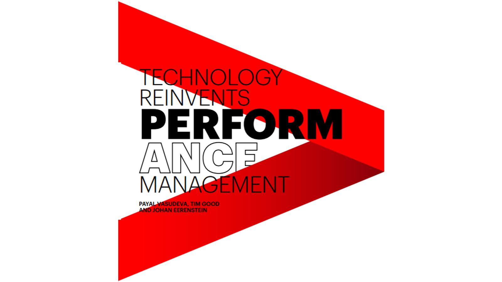 Performance Technology: Technology Reinvents Performance Management
