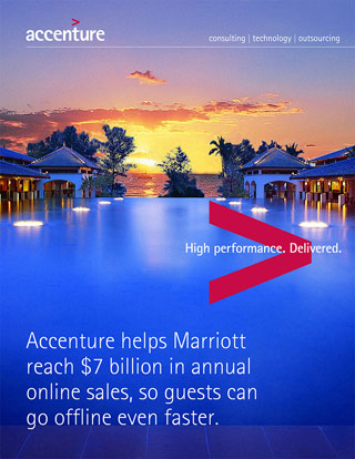 Image of PDF cover. For best viewing, click here to download the full article. Accenture helps Marriott reach $7 billion in annual online sales. This opens a new window.