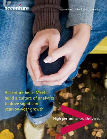Click here to download the full article. Accenture helps Meetic build a culture of analytics. This opens a new window.