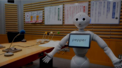 Meet Pepper, the world's first emotionally intelligent robot