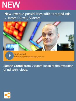 New revenue possibilities with targeted ads  - James Currell, Viacom