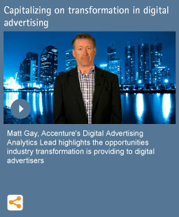 Capitalizing on transformation in digital advertising
