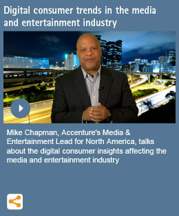 Digital consumer trends in the media and entertainment industry