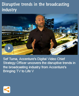 Disruptive trends in the broadcasting industry