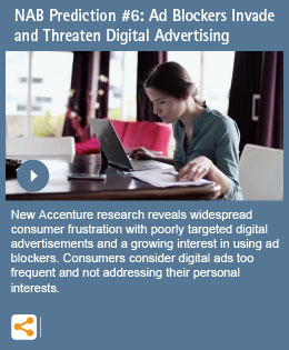 NAB Prediction #6: Ad Blockers Invade and Threaten Digital Advertising