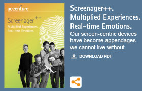 Screenager++. Multiplied Experiences. Real-time Emotions.